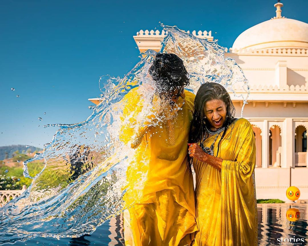 Niharika-Konidela-Chaitanya-Haldi-Ceremony-Photos-1