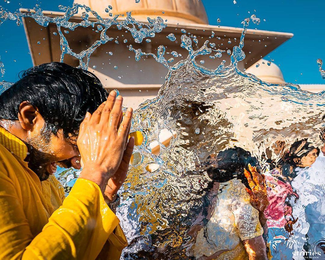 Niharika-Konidela-Chaitanya-Haldi-Ceremony-Photos-2
