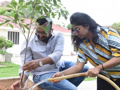 Bandla Ganesh- green challenge