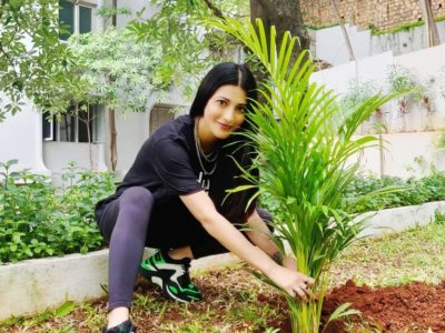 Shruti Haasan Acceptes Mahesh Babu Green India Challenge