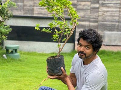 Vijay Thalapathy Accepts Mahesh Babu Green India Challenge