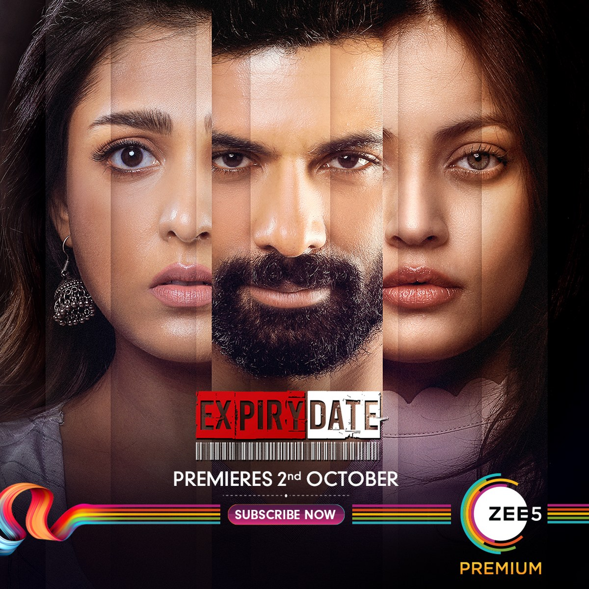 Expiry Date is a ten episode series set to premiere 2nd October on ZEE5