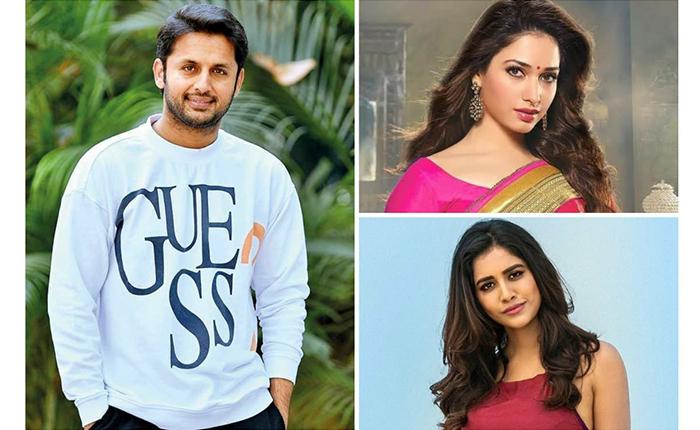 Tamannaah, Nabha Natesh Finalized For Nithiin, Merlapaka Gandhi, Sreshth Movies Film