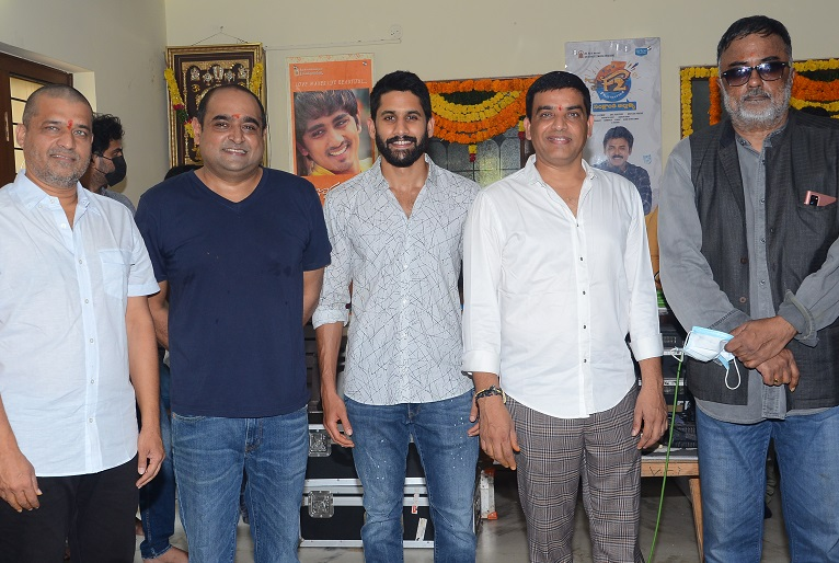 Naga Chaitanya Thank You Movie Opening