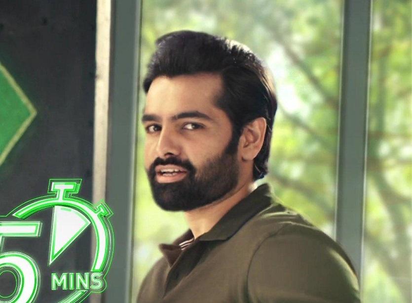 Energetic Hero Ram Pothineni Craze gets him a Pan Indian ad